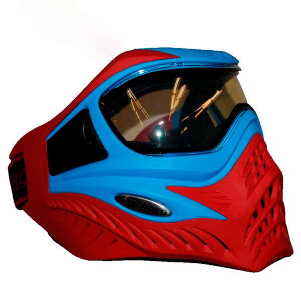 -20%   V-FORCE Grill Paintball Mask / Goggle - SE - Blue on Red